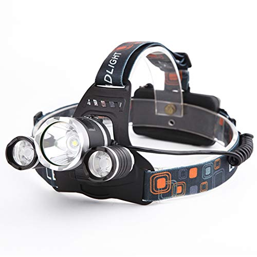 Yizhet Linterna Frontal LED Recargables Luces Super...