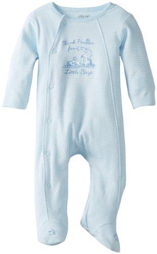 Little Me Baby-Fußband für Jungen - Weiß - Preemie
