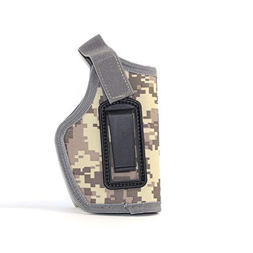 Yuansu Tactical Gun Holster for Glock 17 19 Colt 1911 Beretta M9 Taurus Makalov Softair Pistole Holster Taille Verdecktes Tragen Von Waffenkoffer (Color : ACU)