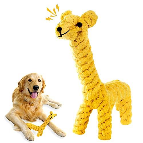 WELLXUNK Giochi per cani mordere, Giocattoli da Masticare per Cuccioli, Pet Molars Morso Giocattolo Pulizia dei Denti con Funzione di Cura Dentale per Cane Giochi Cane Piccola Taglia (B)