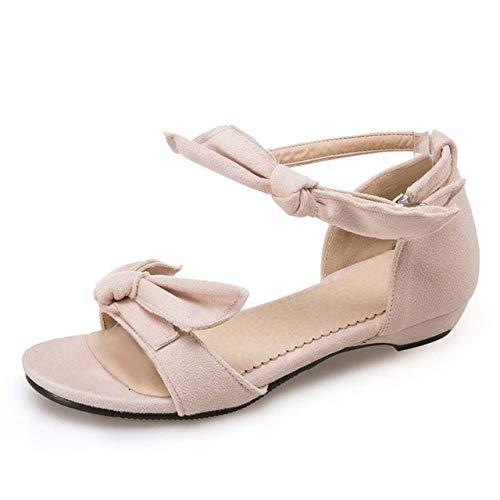 SHZSMHD reliëf mode prinses schoenen zomer schattige vlieg enkelriem gladiator schoenen lage hakken sandalen