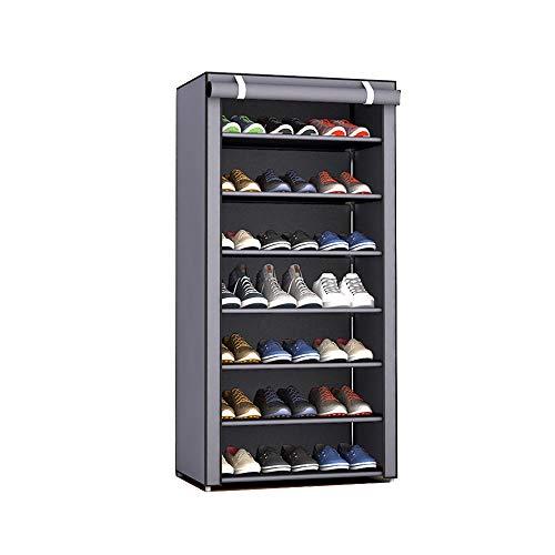 YANGYUAN Bolsa de Almacenamiento en Rack de Zapatos 7-Capas del Dormitorio del hogar Zapatero Zapato a Prueba de Polvo del Zapato Estante Grande de Polvo no Tejidos de Soporte del Zapato
