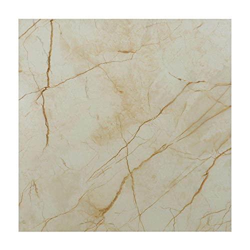 WSWJDW Adhesivos autoadhesivos para azulejos de mármol de PVC, papel tapiz impermeable, pegatinas artísticas para el suelo, película decorativa para cocina, papel de contacto para el suelo, 10,10 pie