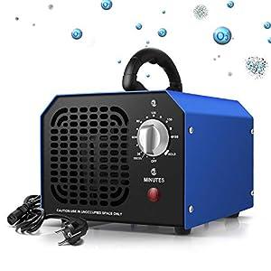 Auto Generatore di ozono Industriale 5000mg // h Depuratore dAria Professionale ad Acqua ad Alta capacit/à per Uso Professionale Deodorante per casa supermercati Hotel battello a Vapore Fabbrica