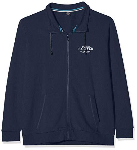 s.Oliver Big Size Herren 15.910.43.5121 Sweatshirt, Blau (Fresh Ink 5952), (Herstellergröße: XX-Large)
