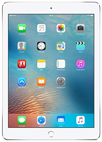 Apple iPad Pro 9.7 128GB Wi-Fi + Cellular - Plata - Desbloqueado (Reacondicionado)