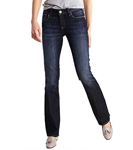 Mavi Damen Bella MID-Rise Bootcut Jeans, Blau (Rinse Miami STR 11114), W26/L32 (Herstellergröße: 26/32)