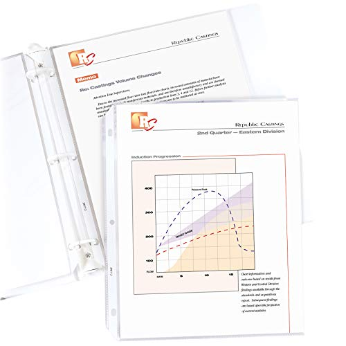 Archival Recycled Sheet Protector - 8
