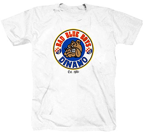 Bad Blue Boys Weiss T-Shirt (XL)