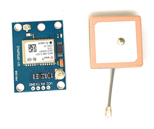 NEO-6M GPS Module with Antenna NEO6MV2 EEPROM APM2.5 & Antenna for MWC/AeroQuad for Flight Control Aircraft Arduino