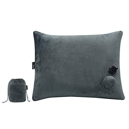 WYFDZBD Il Cuscino Gonfiabile Automatico del Cuscino del Pisolino di Viaggio del Cuscino del Cuscino del Pisolino di Corsa della Stampa della Pressa Gonfia Il Quadrato