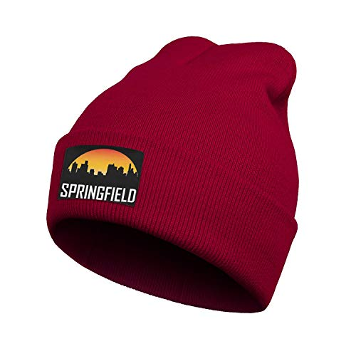 Just Hiker Unisex Knit Beanie Winter Slouchy Hat Soft Skull Cap Fleece