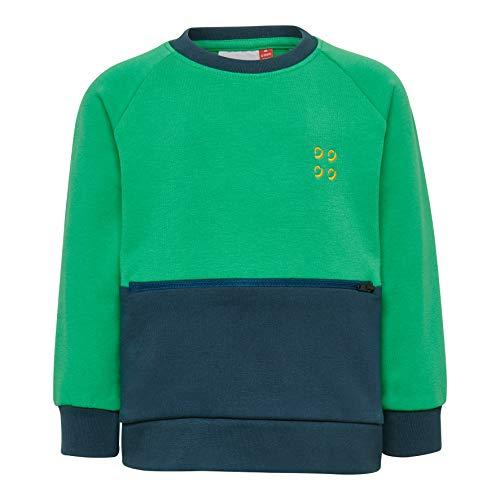 Lego Wear Baby-Jungen LWSIRIUS 652-SWEATSHIRT Sweatshirt, Grün (Green 866), (Herstellergröße: 104)