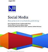 Social Media—Best Practices in Scholarly Publishing (English Edition)