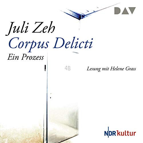 Corpus delicti     Ein Prozess              By:                                                                                                                                 Juli Zeh                               Narrated by:                                                                                                                                 Helene Grass                      Length: 4 hrs and 34 mins     4 ratings     Overall 2.0