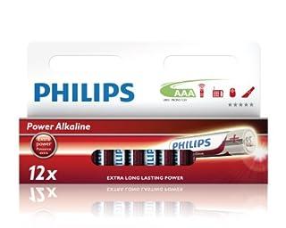 Philips LR03P12W AAA - Pilas AAA (Alkaline, 1.5 V, 12 unidades) (B003XQLAM0) | Amazon price tracker / tracking, Amazon price history charts, Amazon price watches, Amazon price drop alerts
