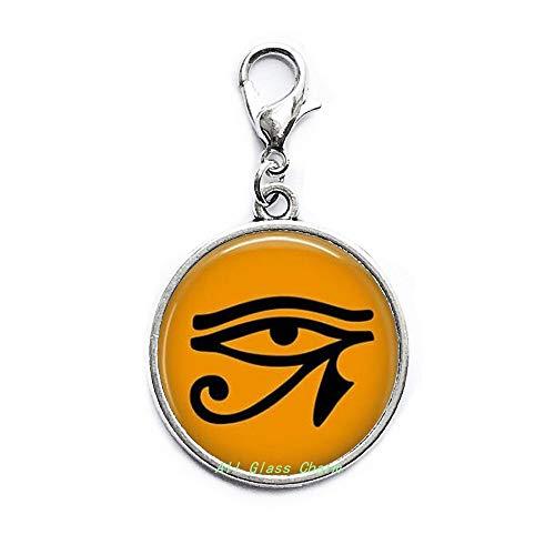 Ägyptisches Auge des Ra Karabinerverschluss, Reißverschluss, Ägypten, Religion, Kleopatra-Schmuck, AS0266