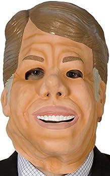 80sTees Point Break Jimmy Carter Mask Tan
