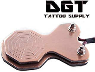 DGT Pro Heavy Duty Tattoo Foot Pedal with 6 ft Cord