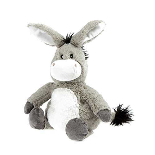Peluche bouillotte Ane - Made in France