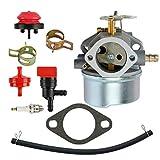 RETYLY Kit Carburatore Carburatore Spazzaneve per Tecumseh 8HP 9HP 10HP 640349 640052