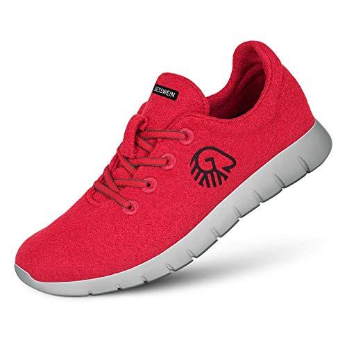 GIESSWEIN Merino Runners Men – Sportliche Herren Sneaker, atmungsaktiver Halbschuh, Herrenschuhe, 100% Merino Wolle