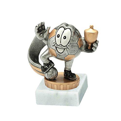 RaRu Kinder-Fussball-Pokal mit Wunschgravur und Resin-Klebefigur