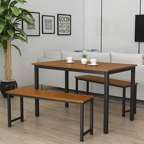 Sense 高級品 FV Dining Table Set Kitchen 人気ブレゼント! 3 with Pieces Modern