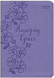 2020 Amazing Grace Executive Planner with Zipper, Pastel Purple