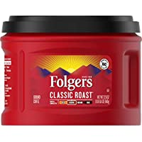3-Pack Folgers Classic Medium Roast Ground Coffee, 22.6 Oz