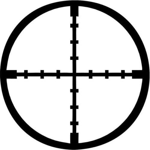 Military Sniper Scope Gun Rifle Graphic Car Truck Windows Decor Decal Sticker - Die cut vinyl decal for windows, cars, trucks, tool boxes, laptops, MacBook - virtually any hard, smooth surface