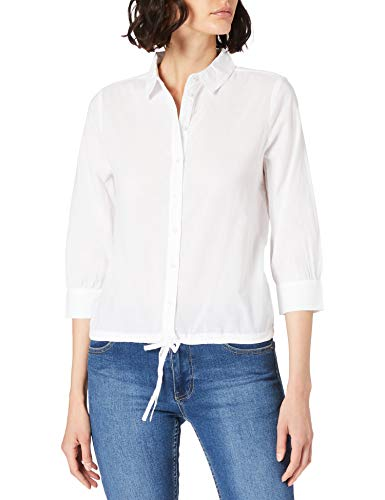 Street One Damen 342539 Bluse, White, 38