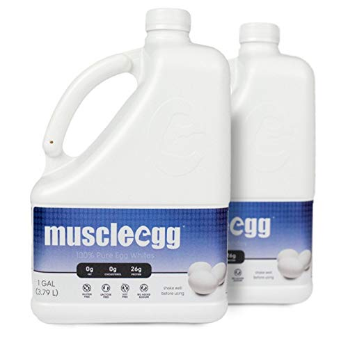 MuscleEgg Original Liquid Egg Whites Protein - 2 Gallons