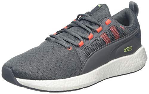 PUMA Neko Turbo , Zapatillas de Running para Hombre ,Gris ( CASTLEROCK-Nrgy Red ) , 43 EU
