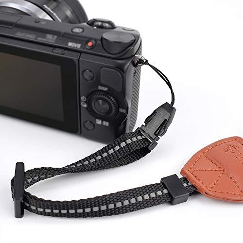 LIFEMATE Scarf Camera Strap,DSLR Camera Strap Universal Neck Strap,Fabric of Bohemia Floral Scarf Camera Strap (Grey)