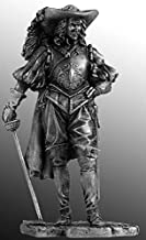 Spanish Nobleman Tin Toy Soldiers Metal Sculpture Miniature Figure Collection 75 mm (75-6)