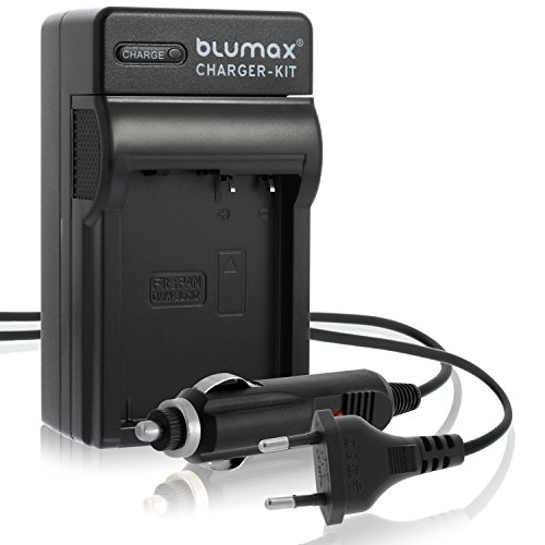 Blumax Ladegerät ersetzt Panasonic DMW-BLC12 / DMW-BLC12-E | passend zu Lumix DMC: G5 | G6 | GX8 | G70 | G81 | GH2 | FZ200 | FZ300 | FZ1000 | FZ2000 | Leica V-Lux 4