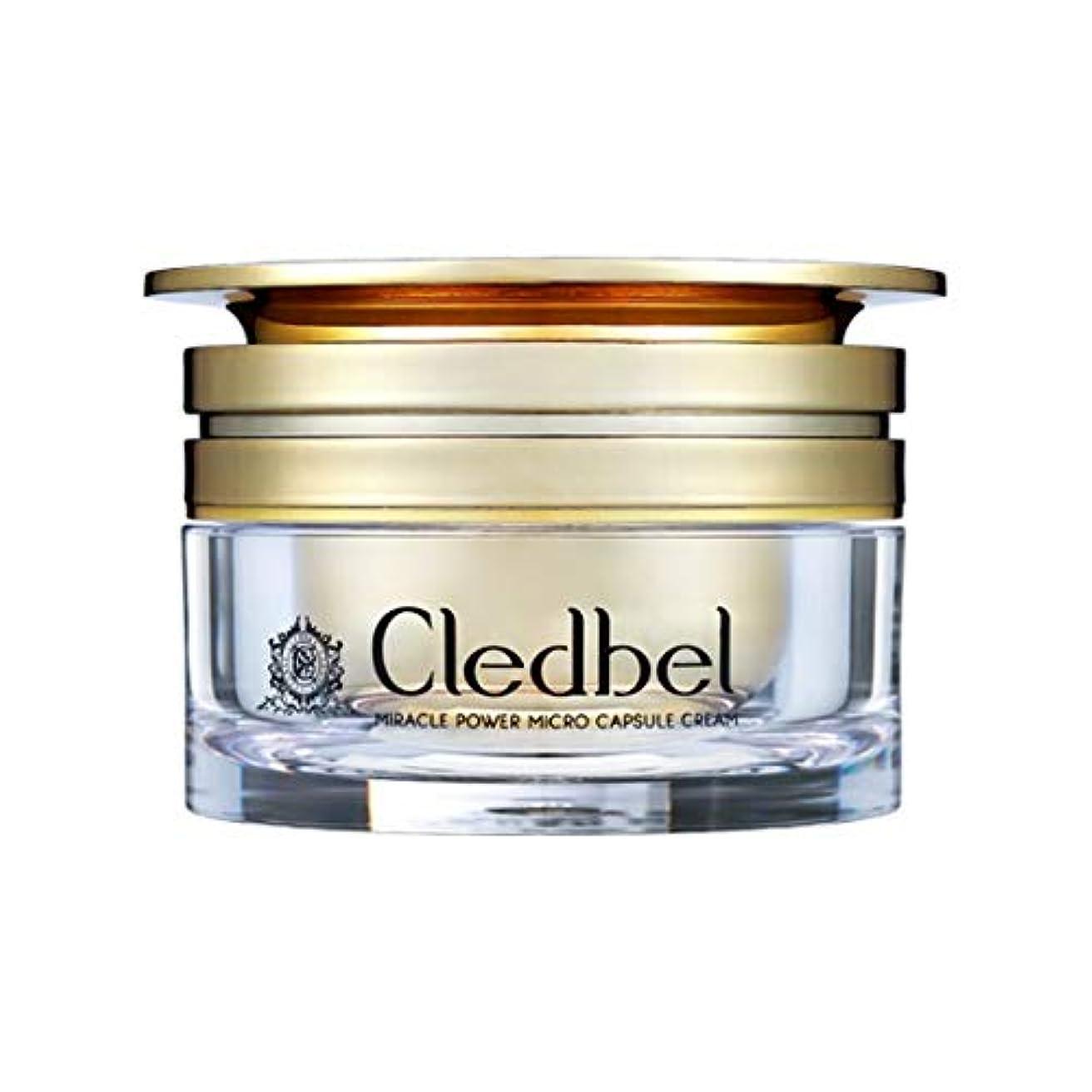 パン屋カナダ予防接種[cledbel] Miracle Power Micro Capsule Cream 50ml / ミラクルパワーマイクロカプセルクリーム 50ml [並行輸入品]