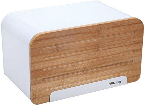 Gute Qualität Brotkasten Weiß Perfekt Für Ihre Küche Aufbewahrungsbox Holz Brotdose Edelstahl Brotkasten Edelstahl Mit Schneidebrett Bambus