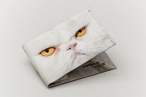 Paprcuts Portemonnaie - Grumpy Cat (Big): Ultraleichte Geldbörse - reißfest, wasserfest, recyclebar