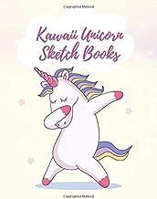 Kawaii Unicorn Sketch Books: A Unicorn Notebooks For Kids,The Cute Gift,Size 8.5 x 11 Inch, 100+ Page