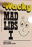 Wacky Mad Libs I