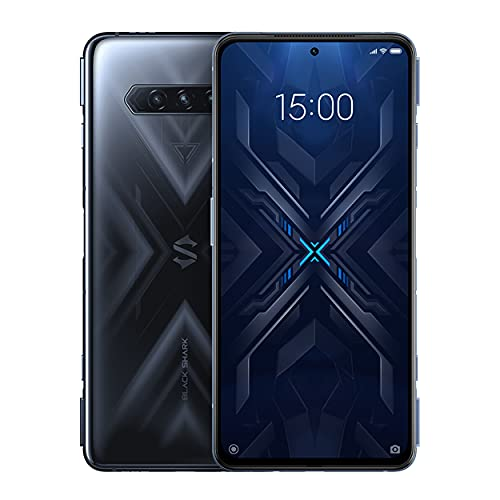 "Black Shark 4 [5G] - Smartphone 12+256GB, Pantalla 144Hz 6,67"", Snapdragon 870, 48MP Triple Cámara, Batería 4500mAh, LPDDR5 RAM + UFS3.1 Storage, Negro (Versión Global)"
