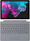 """Newest Microsoft Surface Pro 6 12.3"""" (2736x1824) PixelSense 267 PPI 10-Point Touch Display Tablet PC W/Surface Type Cover, Intel Quad Core 8th Gen i5-8250U, 8GB RAM, 128GB SSD, Windows 10, Platinum"""