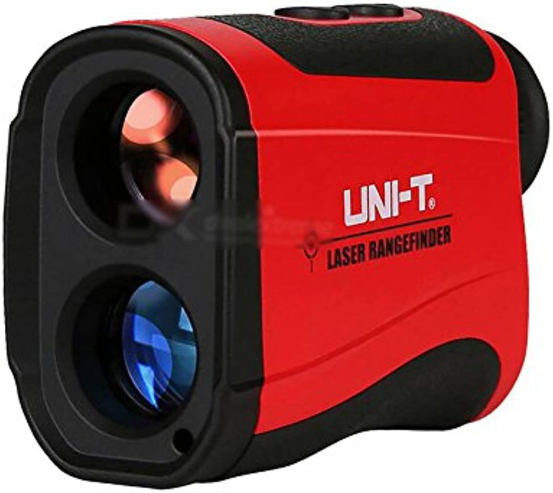 UNIT LR1200 Laser Rangefinder Telescope  Black + Red (1200m Range)