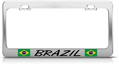 Best brazil license plate frame Reviews