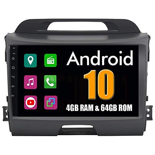 Android 6.0 Octa Core, autoradio GPS per KIA SPORTAGE R 2011-2016, con navigazione, radio stereo, Bluetooth, specchio Link Full Touch