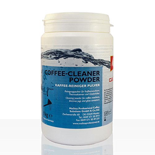 Melitta Cafina Coffee-Cleaner Powder 1Kg Kaffee-Reiniger