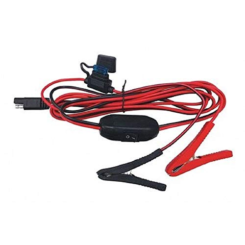 Fimco 7771784 Wire Harness with On/Off Switch, 8-Feet Lead Wire with Alligator Clips, Use On Lawn and Garden 12V Sprayers, 3-5/8