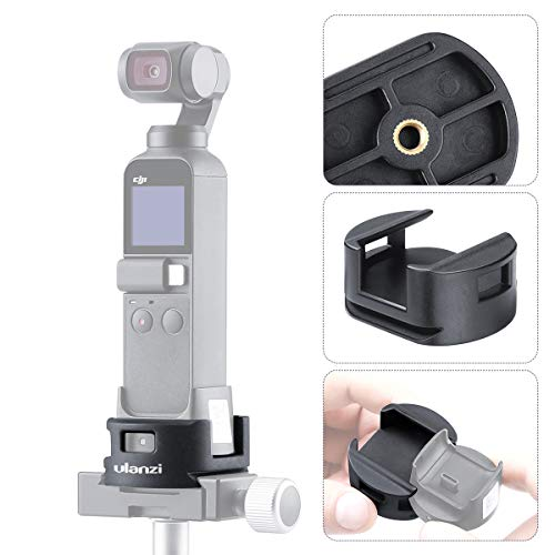 ULANZI OP-4 OSMO Pocket WiFi Base Tripod Adapter for DJI OSMO Pocket Wireless Module Base Gimbal Stabilizer Extension Accessories